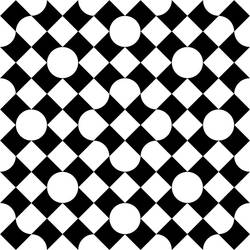 Bitten Square Pattern 1 by andydiehl