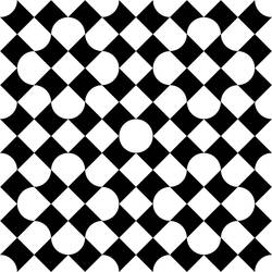 Bitten Square Pattern 2
