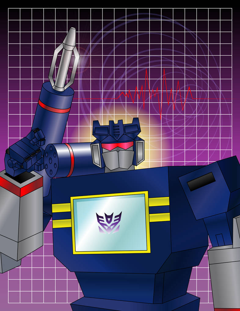 Soundwave Vector art by andydiehl