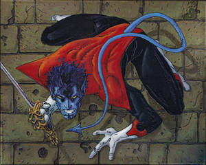 Nightcrawler Jim Lee X-Men Card Series 1 Painting