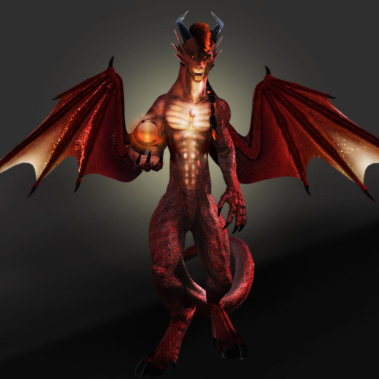 T'Charr, the Demon Dragon