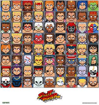 Street Fighter tribute by DanOcean