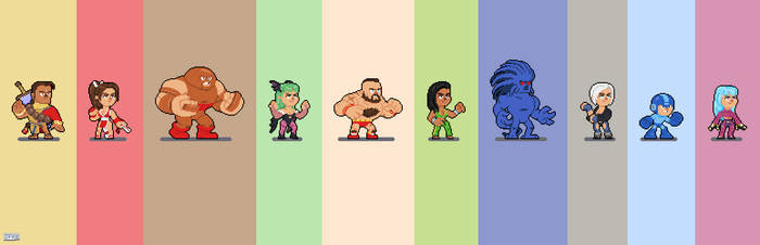 Random Fighters by DanOcean