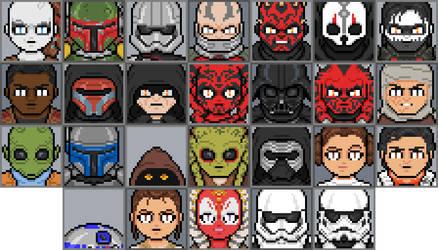 Star Wars tribute by DanOcean