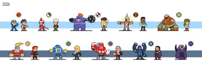 Megaman Battle Network fanart by DanOcean