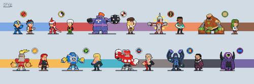Megaman Battle Network fanart