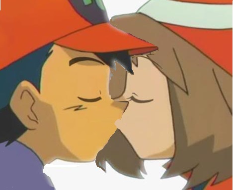 Pokemon kiss the girl