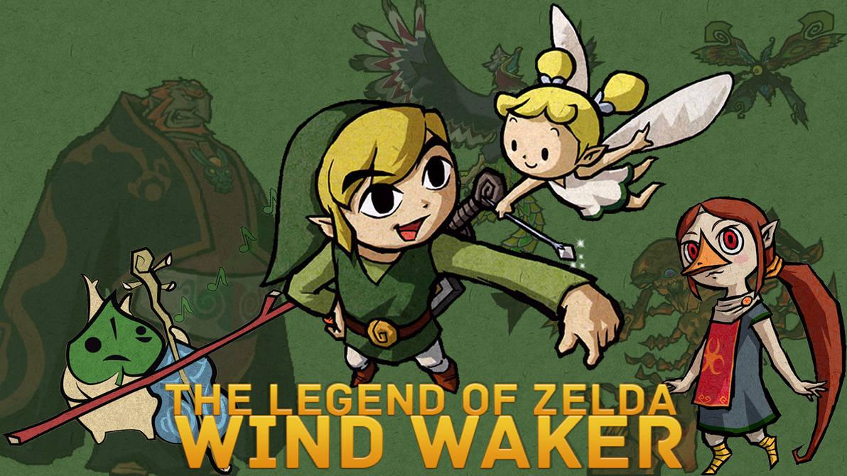 The Legend Of Zelda Wind Waker Wallpaper Hd By Inicklas On