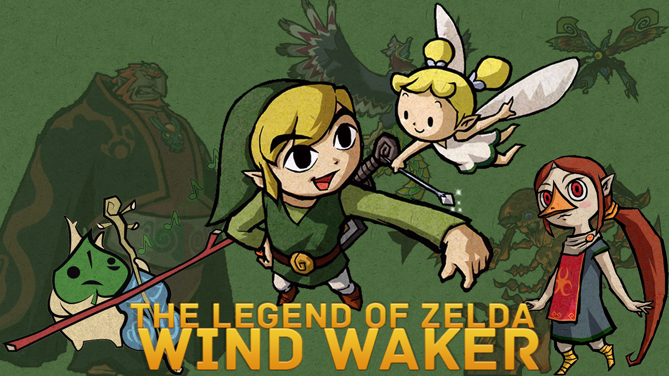 The Legend Of Zelda Wind Waker Wallpaper Hd By Inicklas On