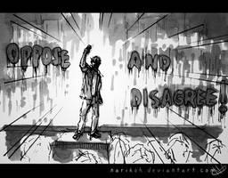 Oppose and Disagree by Narikoh