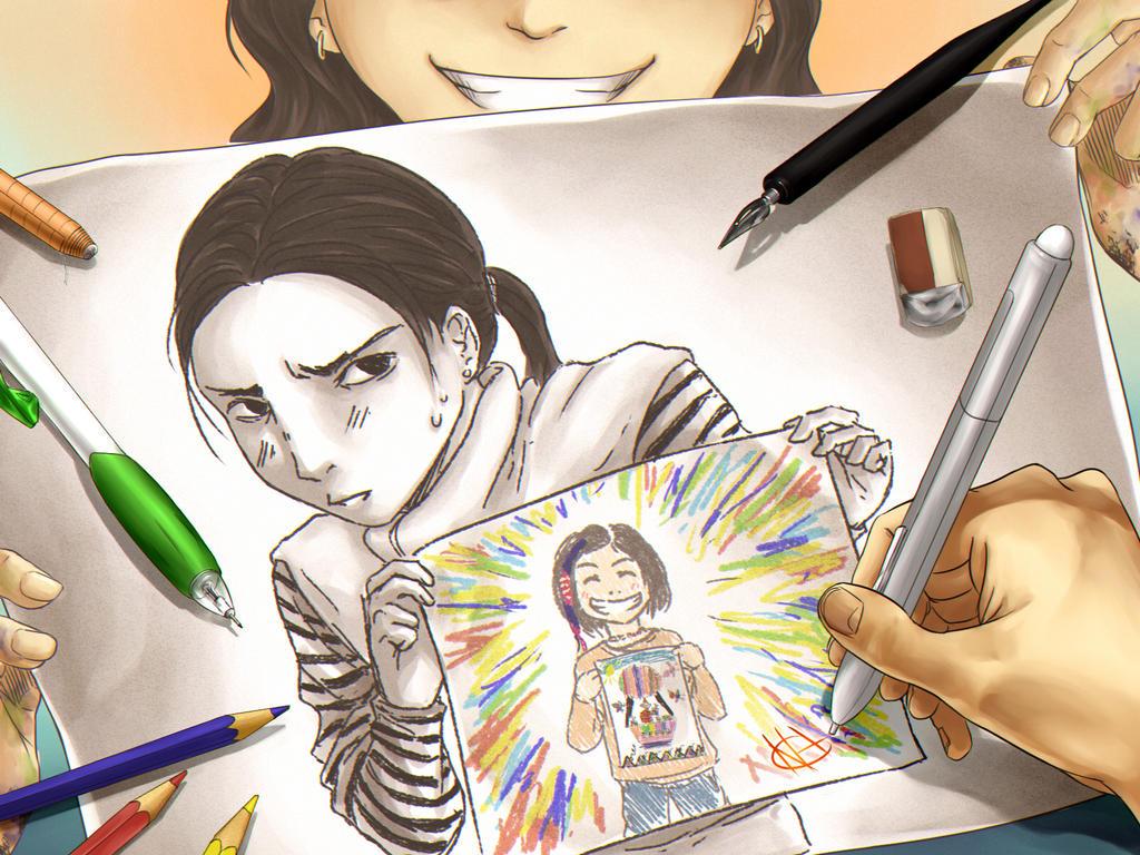 Art Is My Friend by Narikoh