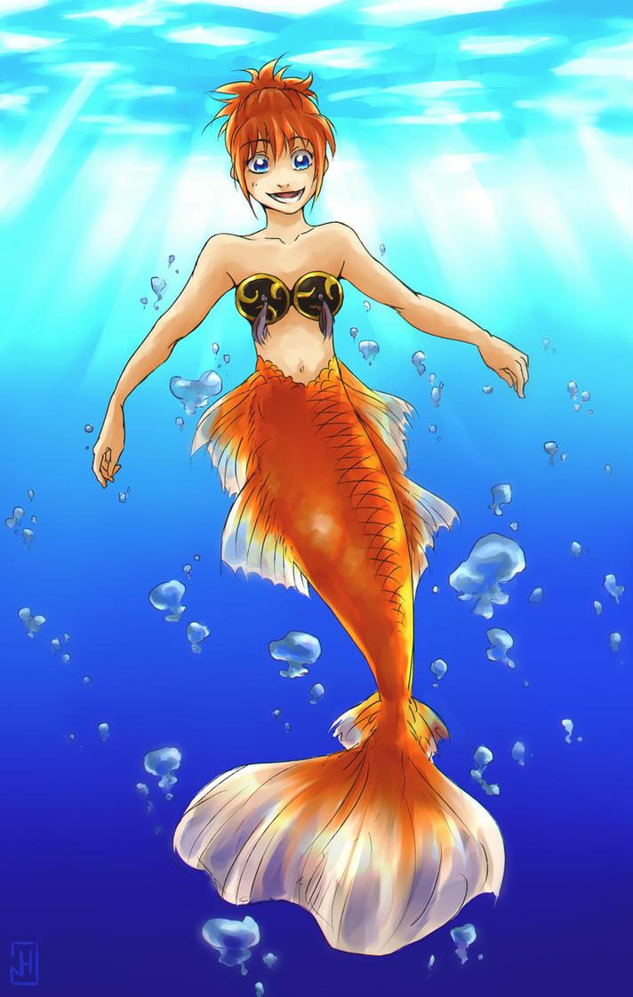 Mermaid: Kagura by Narikoh