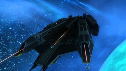 Black Fleet Carrier by Clonetrooper21