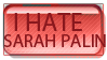 ANTI - Sarah Palin stamp by xXSellChanXx