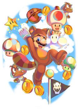 Super Mario 3D Land by ultimatesol