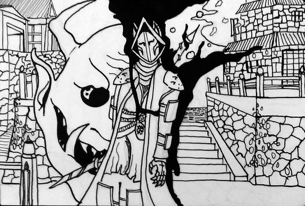 Nobushi Oni Slayer by TheHerdman