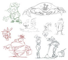 Quick Sketches by Sodano