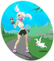 Bunny Runner by Sodano