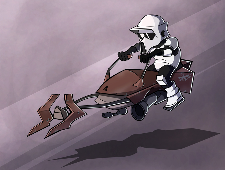 Pubg By Sodano On Deviantart: Speeder Bike By Sodano On DeviantArt