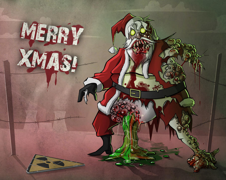 Pubg By Sodano On Deviantart: Infected Santa By Sodano On DeviantArt