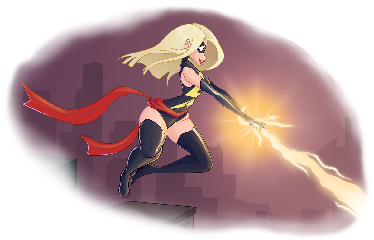 Pubg By Sodano On Deviantart: Ms Marvel By Sodano On DeviantArt
