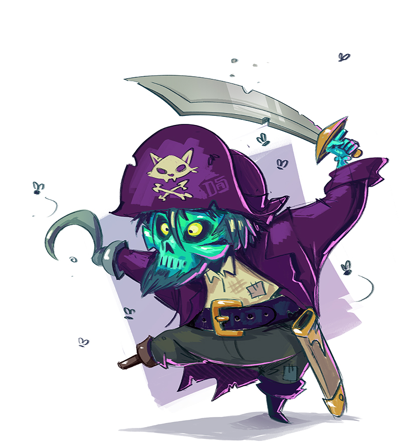 Ghost Pirate by Sodano