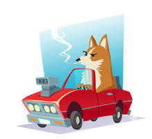 The Fast, The Furious, and Corgis by Sodano