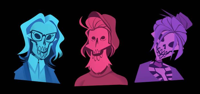Skeleton Portraits 01