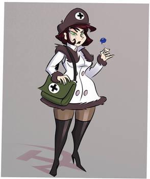 Hello Female Medical Professional