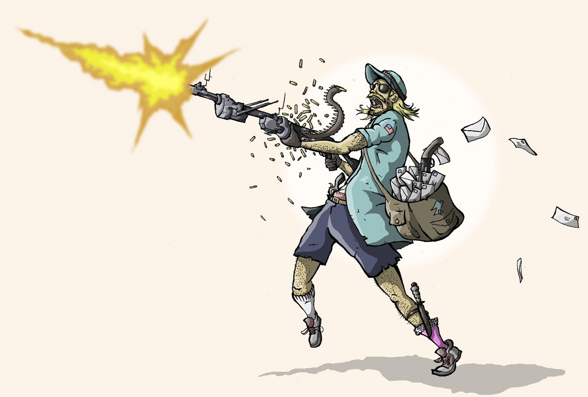Pubg By Sodano On Deviantart: Crazy Post Man By Sodano On DeviantArt