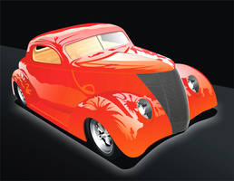 '38 Ford front by kenpoist