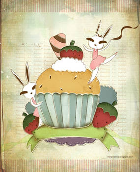 bunny in tutu