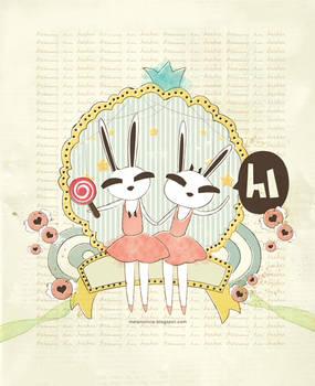 bunny in tutu 2