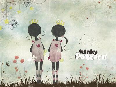 kinky pattern sentimentally by melaniolivia