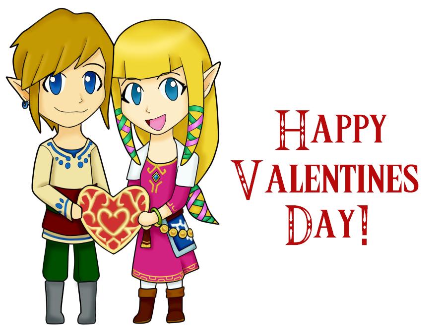 Zelink Valentines by OtakuRose