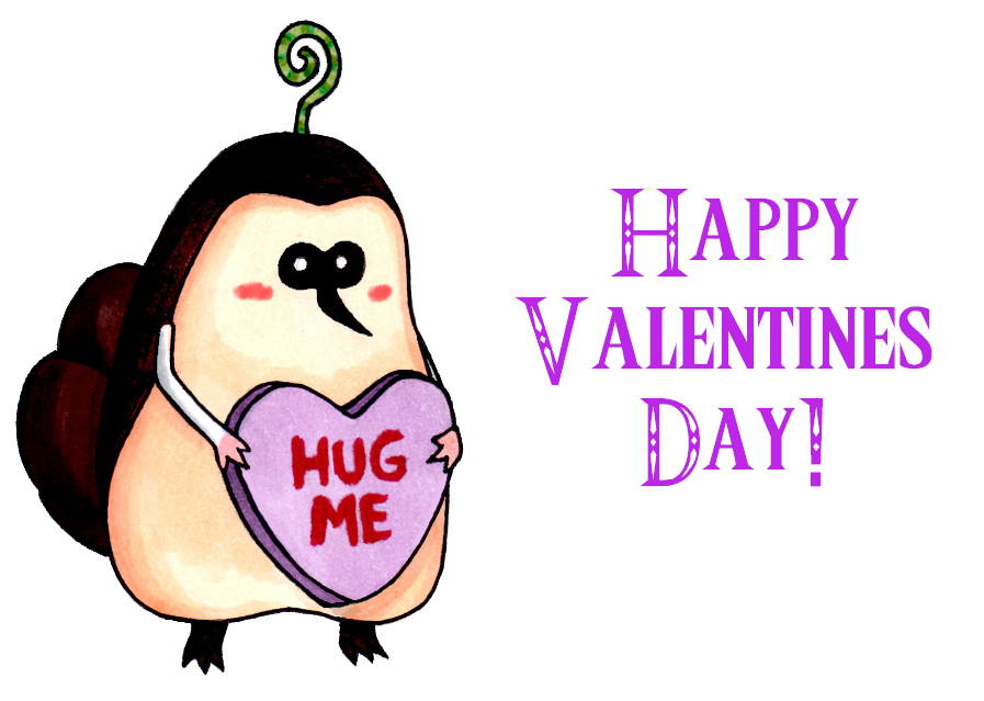 Kikwi Valentines by OtakuRose