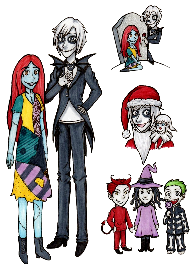 The Nightmare Before Christmas Drawings by OtakuRose on DeviantArt