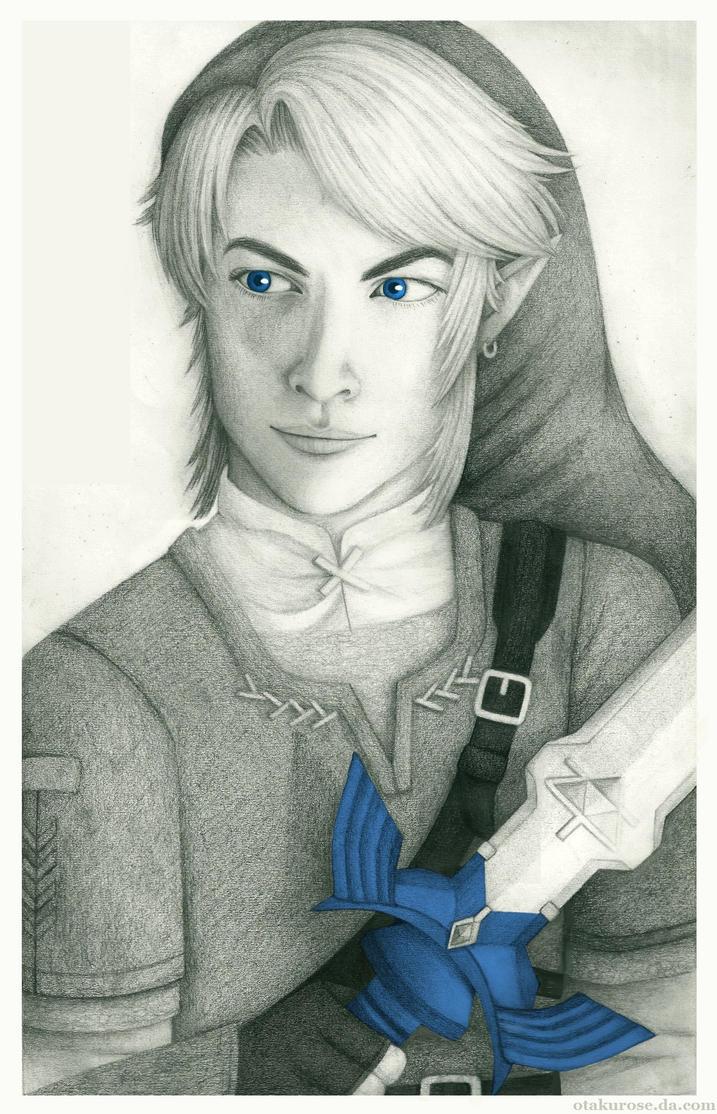 . the bearer of the triforce . by OtakuRose
