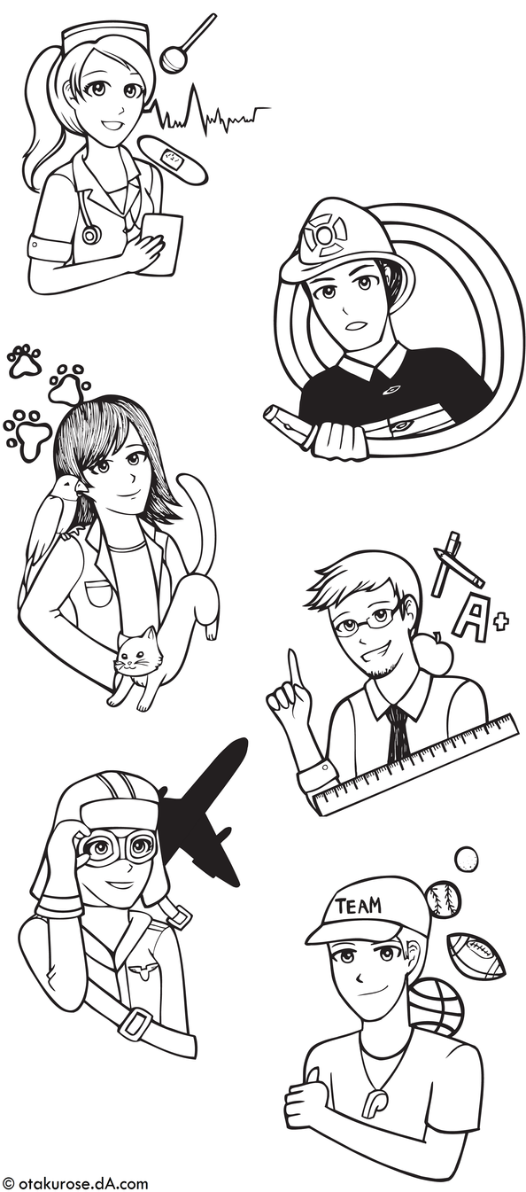 Bookmark of Careers by OtakuRose