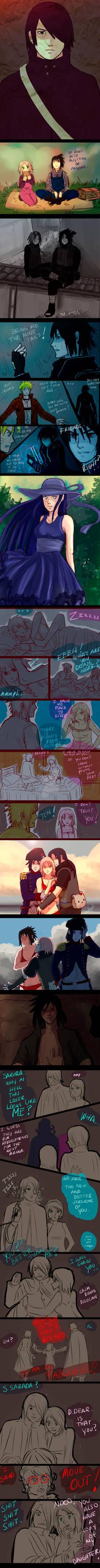 ++++ Naruto doodles (7) ++++
