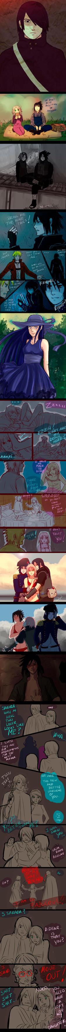 ++++ Naruto doodles (7) ++++ by AngelJasiel