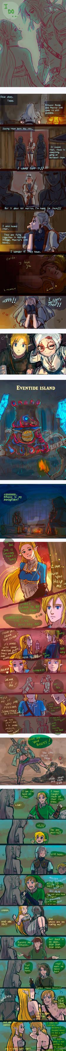 +(- The legend of Zelda doodles [15] -)+ (BOTW)