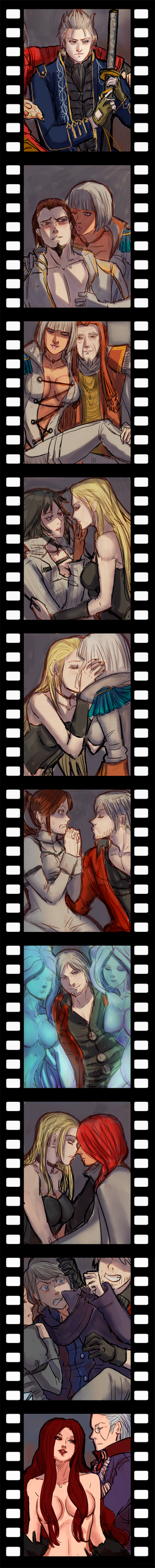 +(- Devil may cry doodles [7] -)+ by AngelJasiel