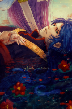 [+-... I will accept our fate ...-+]