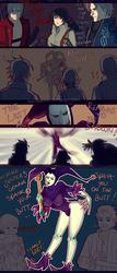 + Kinktober2019 + 11 +Clown+ (DMC3 characters) by AngelJasiel