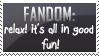Fandom stamp by ES9