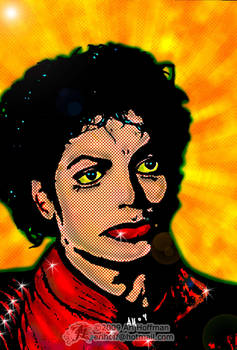 Michael Jackson... Pop Art.