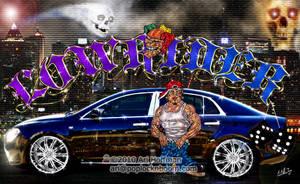 Lowrider 'Evil Night' Art work