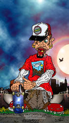 Johnny 'Skater'... Art Work