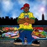 Rico 'Graffiti' Art Work
